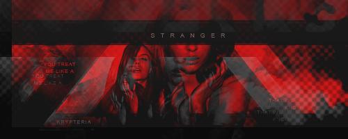 You treat me like a stranger - Firma by KrypteriaHG