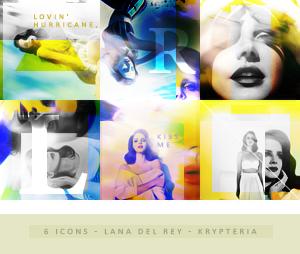 Icons - Lana del Rey by KrypteriaHG