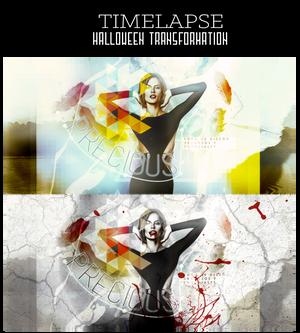 Timelapse - Halloween Transformation