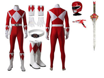 Red Ranger Cosplay by jakobmiller2000