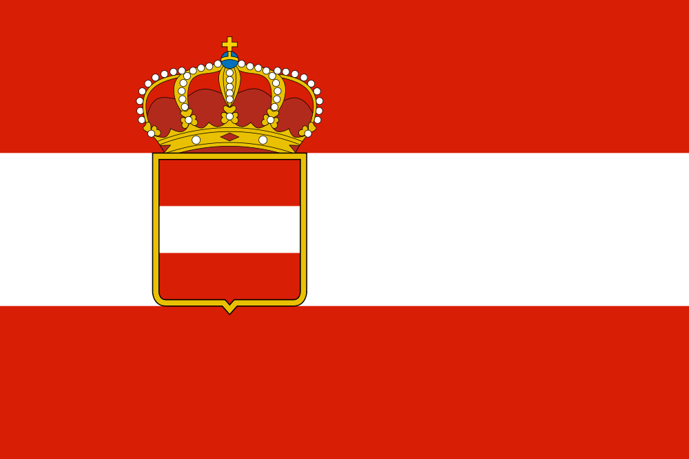 Austria-Hungary flag 1 by LlwynogFox on DeviantArt