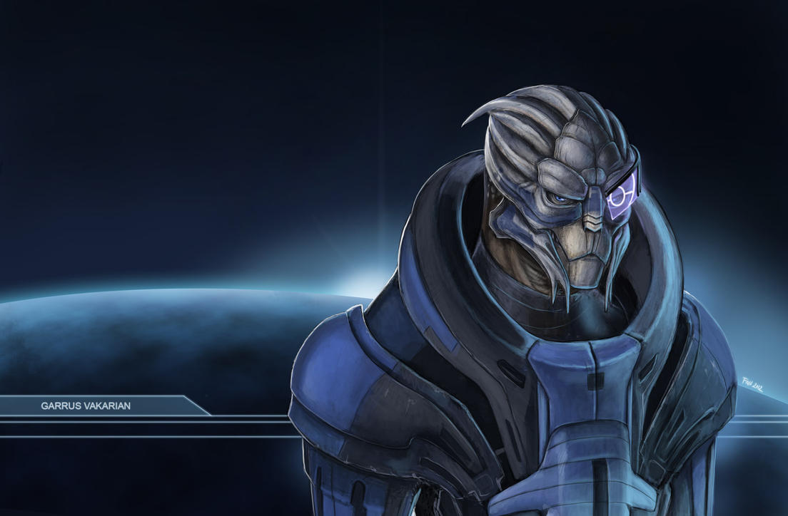 Garrus by Fan-the-little-demon