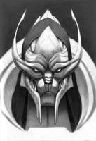 Saren sketchbook by Fan-the-little-demon