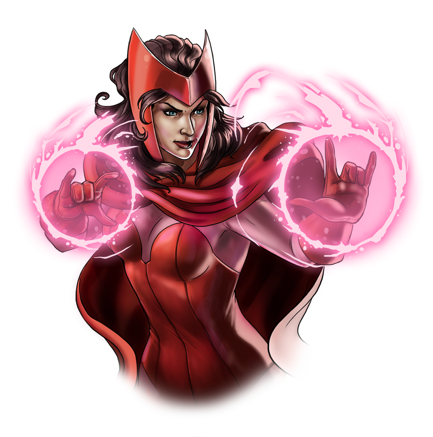 Canceled project - Scarlet Witch by Fan-the-little-demon ...