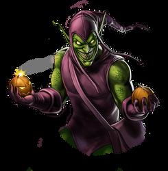 Canceled project - Green Goblin by Fan-the-little-demon