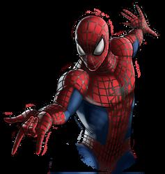 Canceled project - Spiderman by Fan-the-little-demon