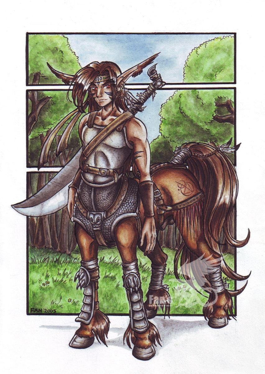 .::Centaur::. by Fan-the-little-demon