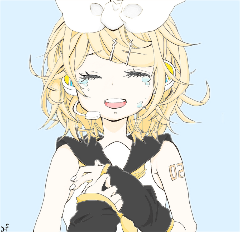 Rin Kagamine by epicglomp