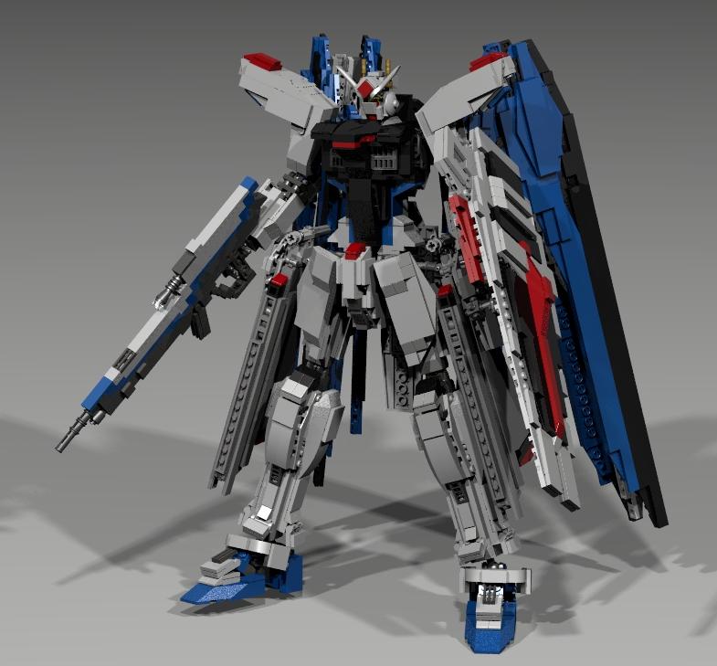 Lego Freedom Gundam V2 by mithrylaltaire on DeviantArt