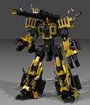 Lego NOAS-CT-003 C-Type Mk.3: Build Mode