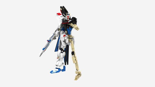 Lego Strike Freedom Gundam Version 2: Inner Frame
