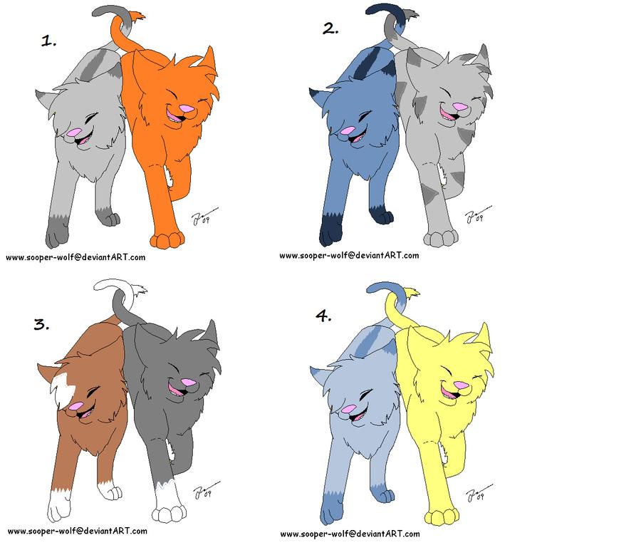 warrior cat couples adoption 2 by thunderxleaf on deviantart