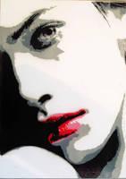 she doesn't talk.. by Farhadine