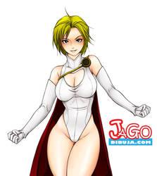 Power girl by JagoDibuja