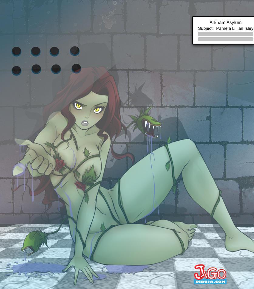 Asylum Poison Ivy by JagoDibuja