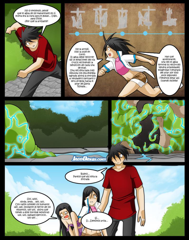 Diario Magico comic capitulo 12 pagina 14 by JagoDibuja