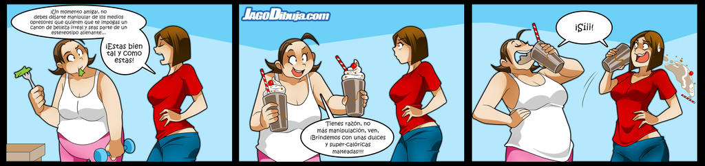 Living With Hipstergirl And Gamergirl-272 by JagoDibuja