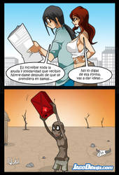 living with hipstergirl and gamergirl 376 by JagoDibuja