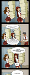 living with hipstergirl and gamergirl 382 by JagoDibuja