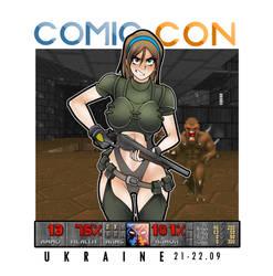 Doom Erika comic con Ukraine