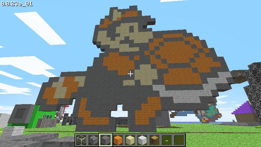 Super Mario in Minecraft by Delta-NakedSnake on DeviantArt