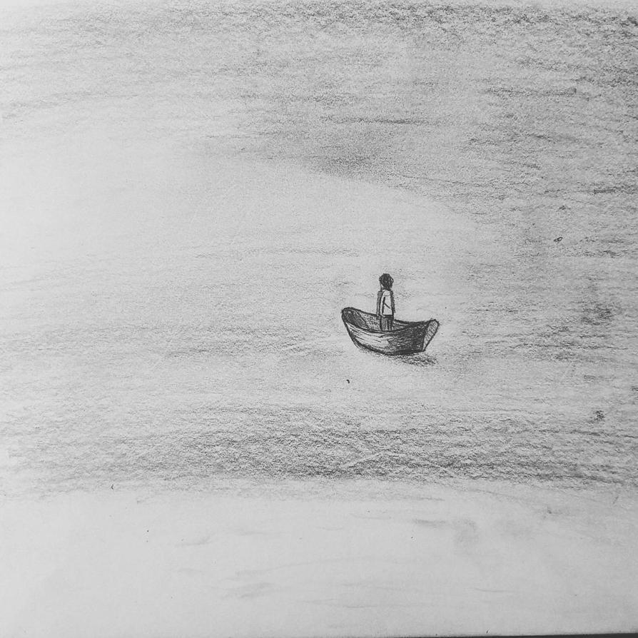 lost at sea by flesheatingbug