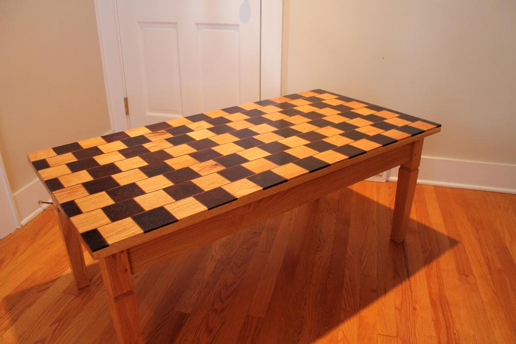 illusion optical table coffee deviantart