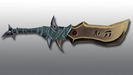 Warcraft Style Dagger by Progalive