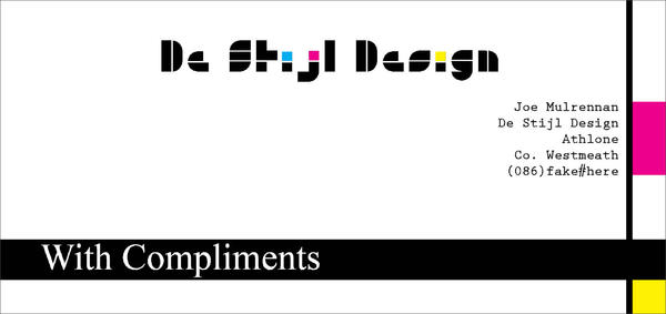 De Stijl complements card by grimjoe90