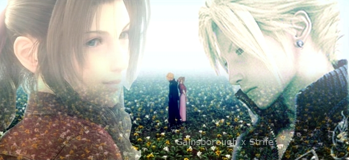 Aerith X Cloud by kawaiiyukinohime