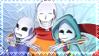 REFUSETale: Bone Brothers Stamp by NatsuneNuko