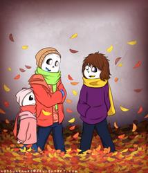 REFUSETober [Day 8] - Autumn Shower