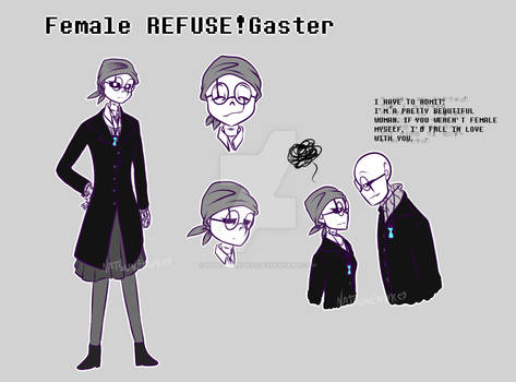 Female REFUSE!Gaster
