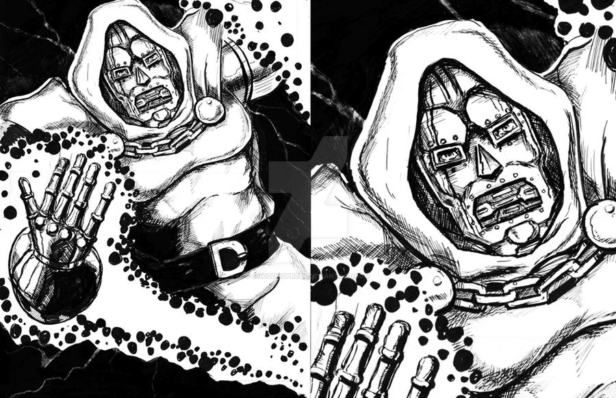 Dr. Doom by Manny by GoodDogPress