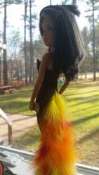 Turkey Dress (back)