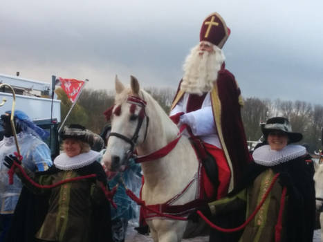 Romano at the Sinterklaas Parade