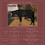 Seattle Star -  SOLD by labsbykibam