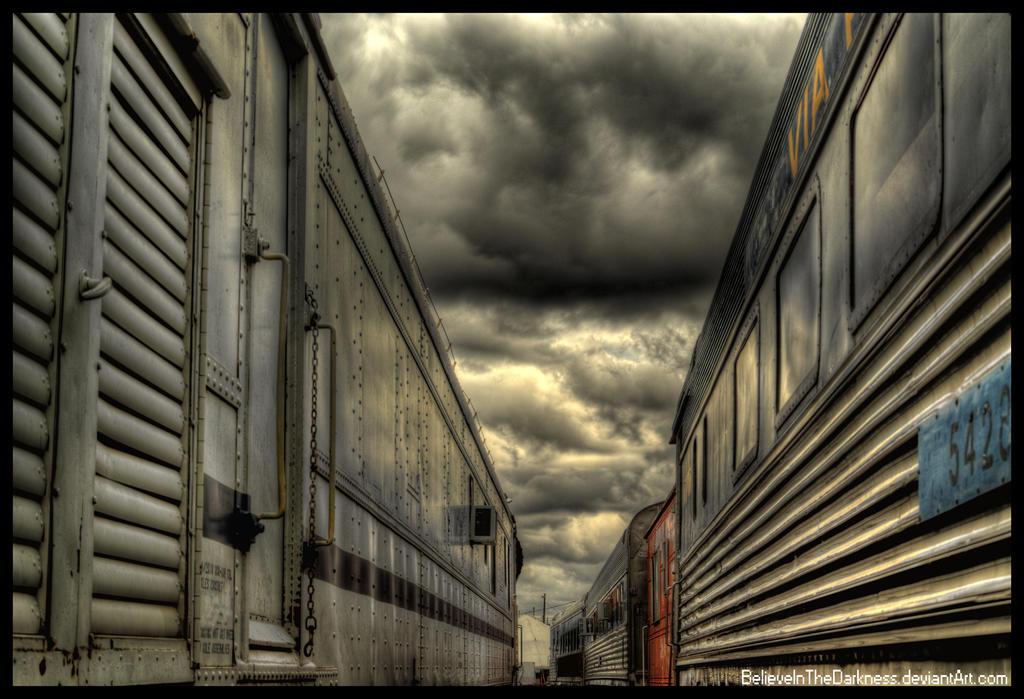 Train Cars by BelieveInTheDarkness