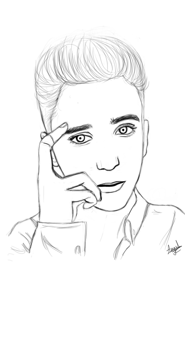 This is a graphic of Unusual Daniel Seavey Drawing