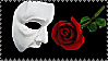 Phantom of the Opera Stamp by Light-Craft