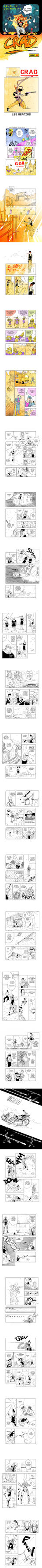 CRAD extrait du Manga by Camps-dessin