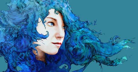 Blue Melody by wisplike