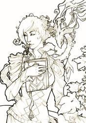 Line art: Aranka by Jethyn