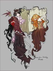 Bleeding heart by Jethyn