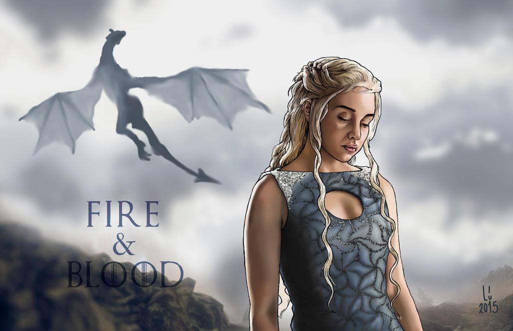 Khaleesi Game Of Thrones By Love Button On DeviantArt