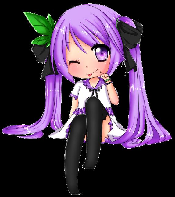Download Anime Emergence: Grape Miku By EmergencyChocolate On DeviantART