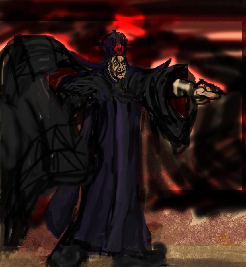 Jonathan  Freeman as Jafar 8 by IsangsimaronBatis