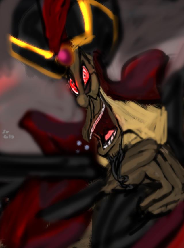 Happy Halloween Jafar laughs by IsangsimaronBatis