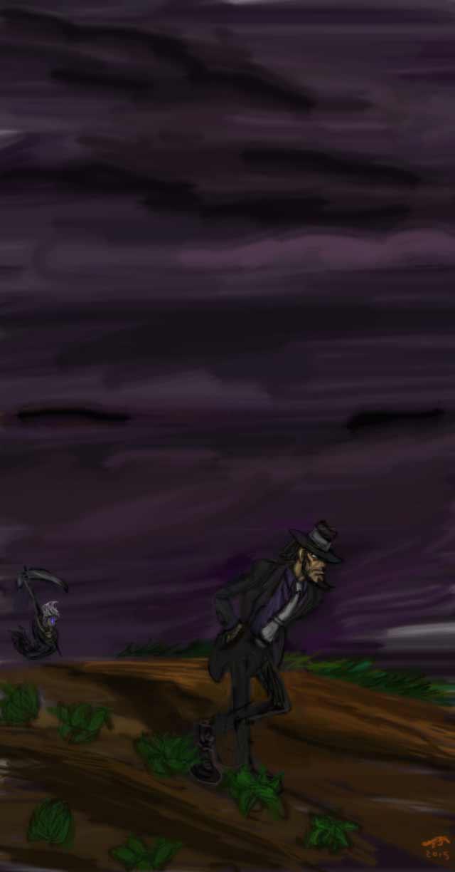 Staying ahead of the Reaper by IsangsimaronBatis