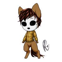 Masky (Hybrid Child doll) by xPoltergeistCatx
